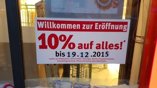 Lokal Düsseldorf- Rossmann 10% auf das gesamte Sortiment ab dem 11.12.