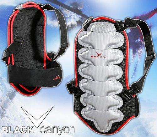 [Amazon] Wintersport Black Canyon Rckenprotektor L