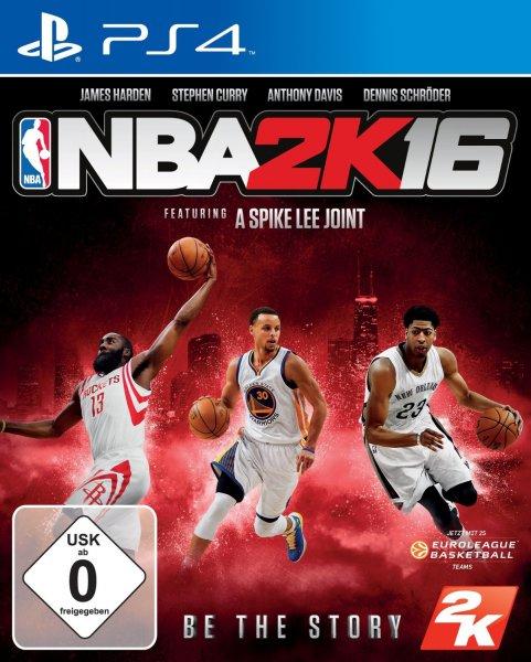 [Amazon] NBA 2K16 (PS4) für 39,99 €