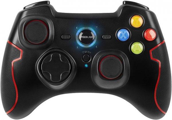 Bit-Electronix - Speedlink TORID Gamepad - Wireless - for PC/PS3, black