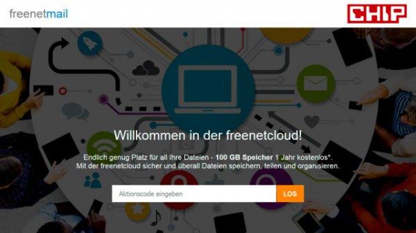 [freenetcloud] 12 Monate 100 GB gratis Cloud Speicher durch CHIP Magazin für 5,40€ - selbstkündigend