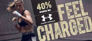40% auf Under Armour bei mysportswear.de