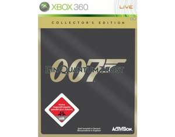 [Game World] James Bond 007: Ein Quantum Trost - Das Spiel - Collector's Edition XBOX 360
