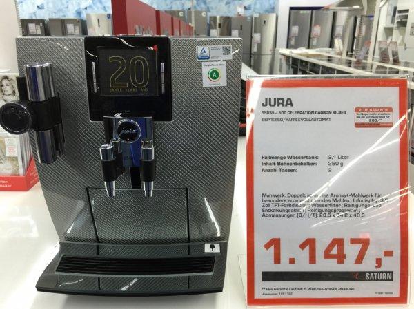 Jura Impressa J 500 Celebration Ed. Carbon Silber für 1147 bei Saturn in Esslingen