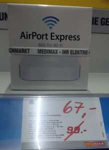 [lokal] [Medimax Eberswalde] Apple Airport Express Basisstation MC414Z/A