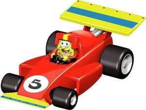 Carrera GO !!! 20061230 - Spongebob Squarepants Racer