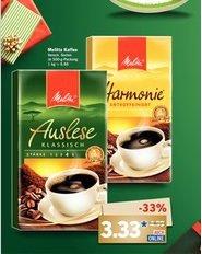 Lidl Melitta Kaffee versch. Sorten 500gr. für 3,33 Euro ab 17.12.2015