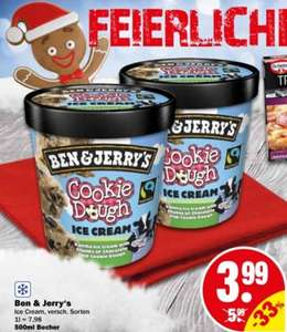 [NP DISCOUNT] Ben & Jerry's Ice Cream 500ml für 3,99€