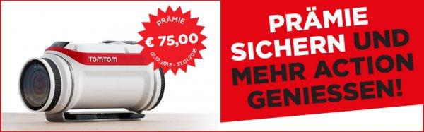 TomTom Bandit Actionkamera  75 Euro Cash Back Aktion von TomTom