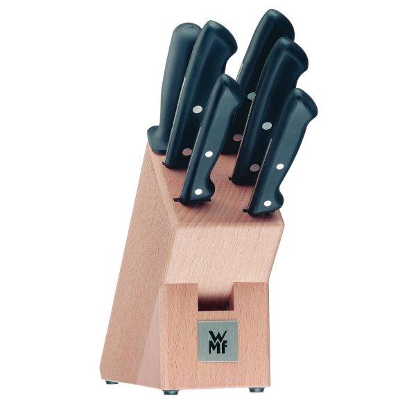 Amazon:WMF 1874706030 Messerblock bestückt 7-teilig Classic Line für 59,95€