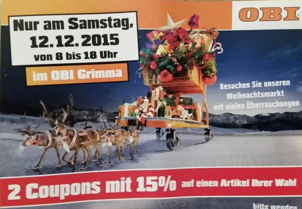 Rabatt Coupons für OBI in Grimma