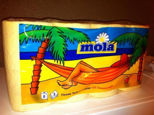 Toilettenpapier Mola nur 0,99 € !!! (Offline - Lokal - Bodenseeraum)