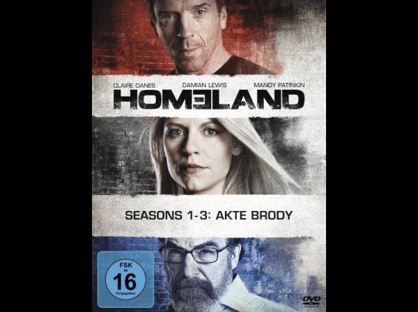 HOMELAND, Staffel 1-3 (Limited Edition auf DVD), für 25 € statt 42 €, versandkostenfrei bei @Saturn