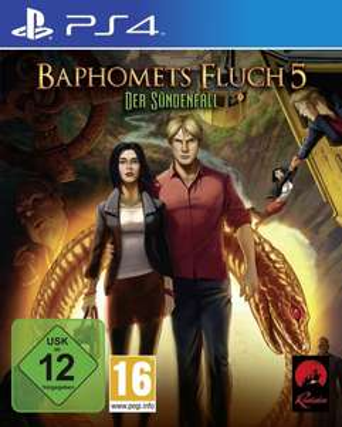 Baphomets Fluch 5 - Premium Edition (PS4) @Amazon & Saturn