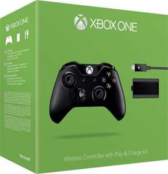 Microsoft XBox One Controller (Version 2015) + Play & Charge Kit für 49,73€ @ Voelkner