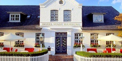 Sylt in einem der besten Hotels Deutschlands - Hotel Stadt Hamburg - bei Travelzoo