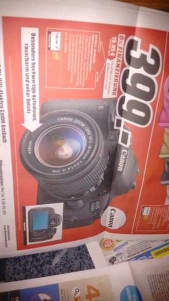 canon eos 700d 399€ media markt ansbach