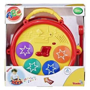 Simba™ - Baby Play and Learn Trommel (104011445) für €9.- [@Real.de]