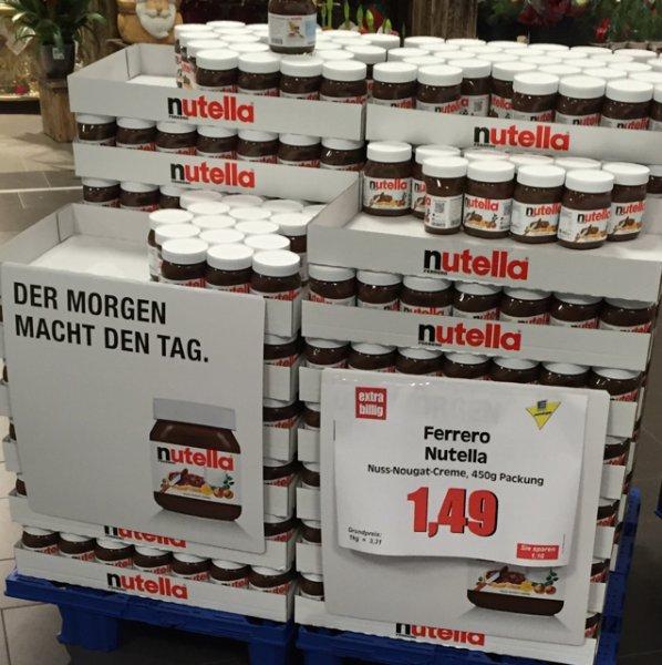 Edeka Berlin HSH Nutella 450gr 1,49€