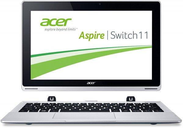 Acer Aspire Switch 11 SW5-171, i3, 4 GB Ram, 60GB SSD, 11,6 Zoll FHD, Win8.1