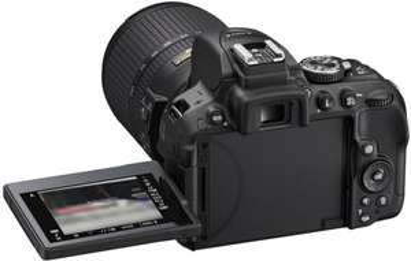 [Globalcentral] Nikon D5300 SLR-Digitalkamera mit 18-55mm VR II Objektiv Kit - Schwarz