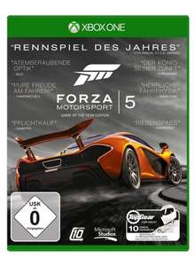 Xbox One - Forza Motorsport 5 (Game of the Year Edition) ab €14,75 [@Saturn.de]