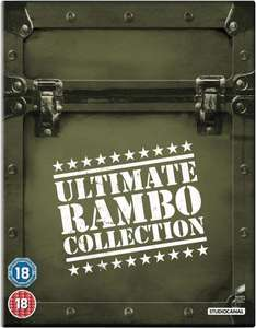 @Zavvi.de: The Ultimate Rambo Collection 1-4 (Blu-ray) für 14,09€