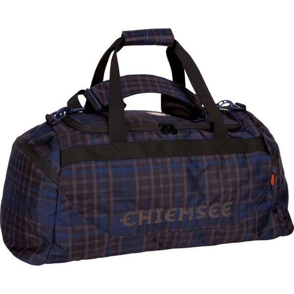 [Amazon Prime] Chiemsee Sport 15 Matchbag Large Sporttasche/Reisetasche 62 cm Farbe: Check Black für 21,34€