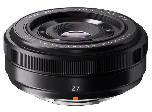 Fujifilm Fujinon XF-Objektiv 27mm, F2,8 schwarz [Amazon.de]