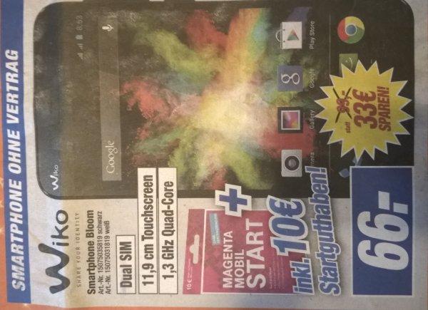 [Lokal HEM expert Backnang] Smartphone Wiko Bloom Dual SIM für 66 € incl. 10 € Magenta Mobil Start (Idealo 92 €), PS4 1 TB für 299 €