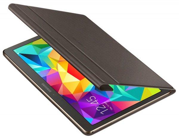 Samsung Folio Schutzhülle Book Case Cover für Galaxy Tab S 10.5 Zoll - Braun - 18,99 (zzgl. VSK bei nicht Prime Kunden)