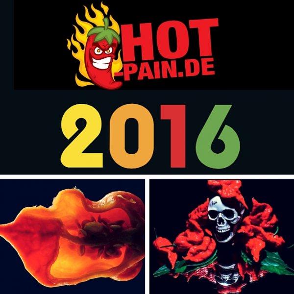 Chili Kalender Hot Pain 2016 umsonst - Versandkosten fallen an