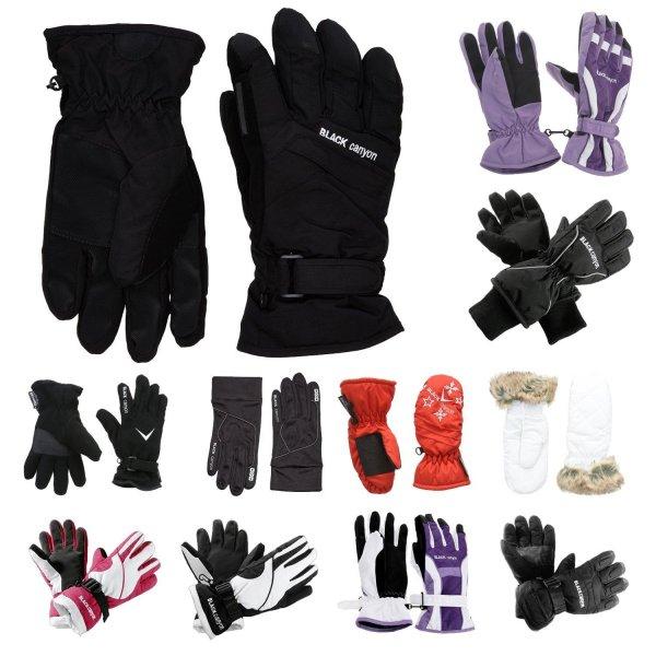 @eBay: Black Canyon, Winter Ski Handschuhe div. Modelle und Farben für Damen, Herren, Kinder 11,99 Euro