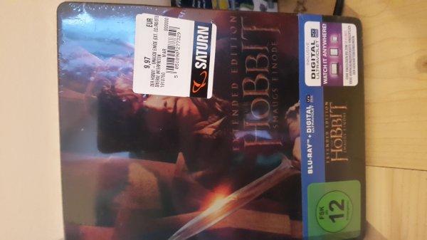 (Saturn Baunatal) Hobbit Smaugs Einöde als Steelbook Bluray Extended
