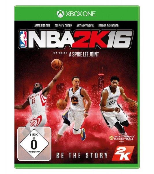 NBA 2K16 für Xbox One ab 29,99 € @ Saturn.de