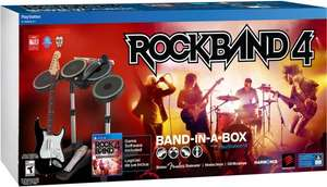 [Gamestop] Rock Band 4 für Xbox One und PS4 - Band in a Box 199€ - Gitarren Bundle 99€ - Disc 39€