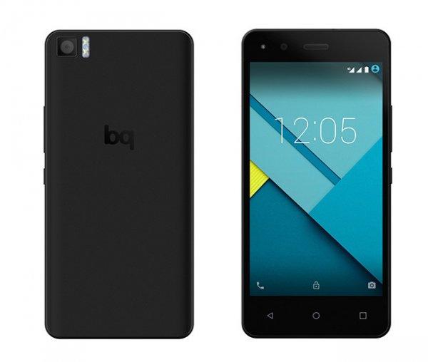 bq Aquaris M5 16GB 2GB RAM schwarz - DUAL SIM - LTE - Amazon ES - 240,74 €