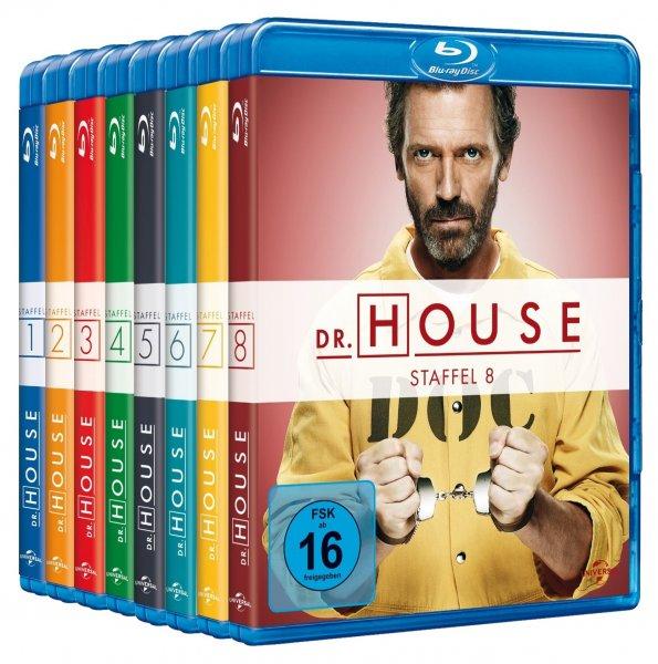 [Blu-ray] 7770 Minuten Dr. House für rund 72 € statt 90 €, @Media-Dealer