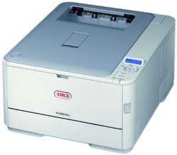 OKI C301dn, Farblaser, Duplexdruck, USB + LAN-Anschluss, 3 Jahre Garantie - 99€ @ redcoon