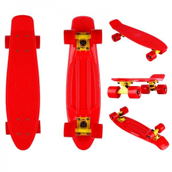 Pennyboard Retro-Skateboard (Rot) bei Ebay für 5,99 inkl.Versand (Preisvorschlag 4,99)