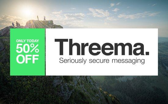Threema 50% günstiger [alle Plattformen]
