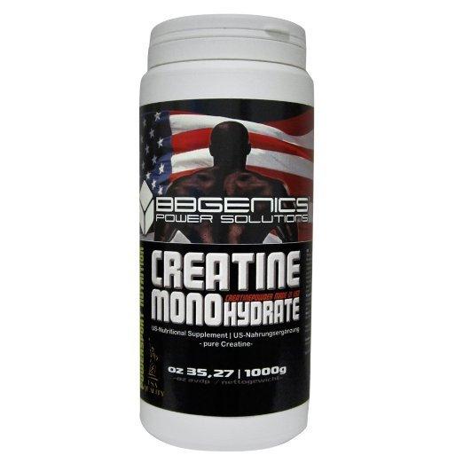 [Amazon.de-Plusprodukt-Sparabo] BB Genics Creatine Monohydrate, Neutral, 1000g Dose. Ab 3,25€