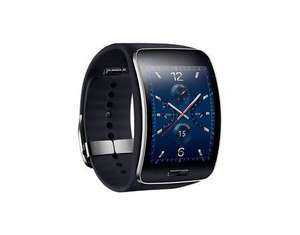 Samsung Galaxy Gear S SM-R750, Smartwatch mit Touchscreen, Super AMOLED 5,09 cm, blue black für 224,95 € @ Allouneed (durch Newslettergutschein )