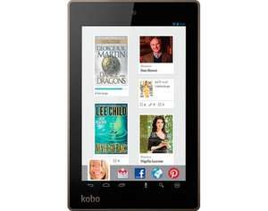 "[Notebooksgünstiger] Kobo Arc 7HD, Tablet-PC, Schwarz, 7"", 1920 x 1200, IPS, 16 GB, Quad-Core 1,7 GHz, WLAN, Bluetooth 4.0, Android 4.2.2"