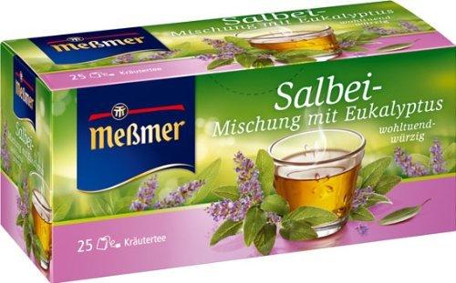 [Amazon.de] Meßmer Salbei Tee 25 Beutel 43,75 g im Spar-Abo für 0,56 €