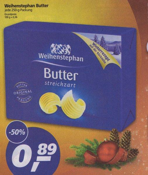 [Real] Weihenstephan Butter 250g für 0,89€ ab 14.12