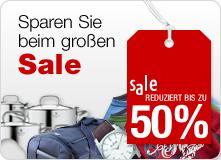 Galeria-Kaufhof (online shop) Sale! Bis zu 50%, auf Elektronik, Haushaltswaren etc.