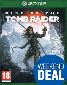Rise of the Tomb Raider Xbox One + Steelbook & DLC-Pack The Hope's Bastion