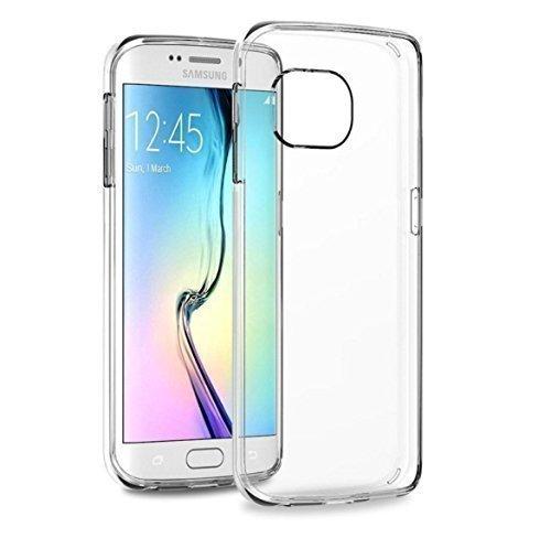 [Amazon Prime] WrapWerk® - Schutzhülle Samsung Galaxy S6 Edge Hülle transparent weiss (Ultra Slim - 0.55 mm) nur 0,06€ oder zusätzlich Buch