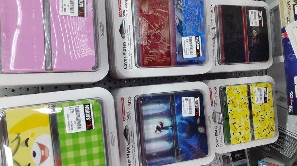 (Lokal Saturn Baunatal) New 3DS Zierblenden versch. Sorten nur 4,97€